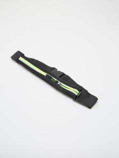 Cinturon Running Expandible Negro Verde