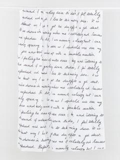 Cortina Baño Texto