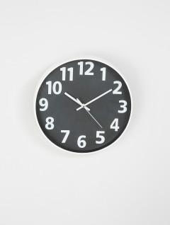 Reloj Pared Vega Negro