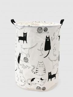 Cesto Laundry Ropa Cats
