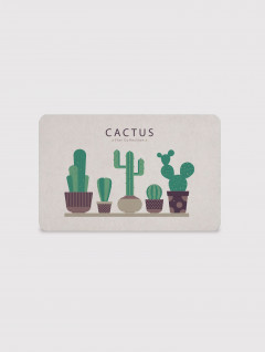 Alfombra Placa Cactus