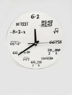 Reloj Pared Formula Blanco