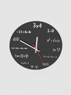 Reloj Pared Formula Negro