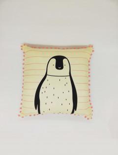 Funda Almohadón Pingüino