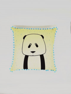 Funda Almohadón Panda