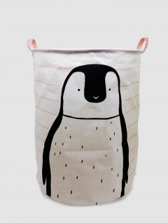 Cesto Laundry Ropa Pingüino