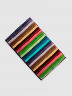 Alfombra Baño Barras Multicolor