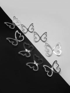 Set Mariposas Borde x 10